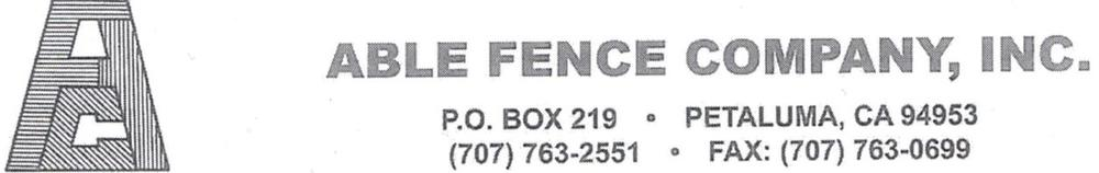 able fence co